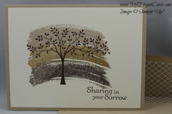 Stampin' Up! Work of Art and Thoughts & Prayers