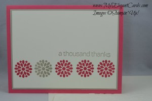 Stampin' Up! Mixed Bunch and Lots of Thanks