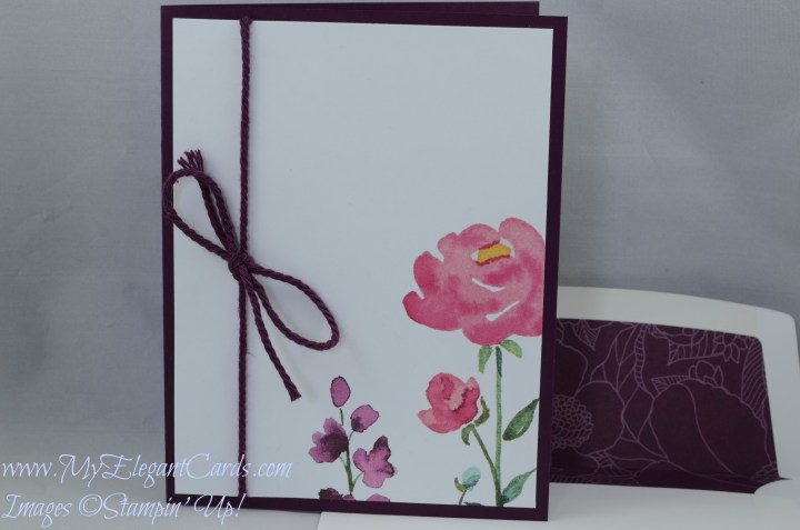 Stampin' Up! Painted Blooms DSP