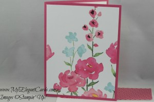 Stampin' Up! Painted Blooms