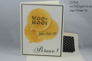 Stampin' Up! Balloon thinlits Bravo