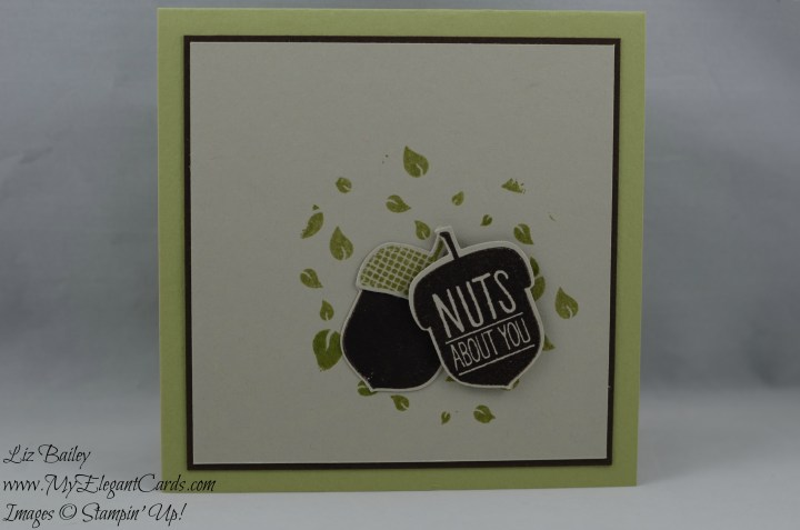 Stampin' Up! Acorny Thank You and Perpetual Birthday Calendar