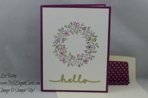 Stampin' Up! Circle of Spring and Greetings thinlits