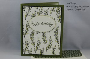 Stampin' Up! October 2015 Paper Pumpkin Alternative Blissful Bouquet