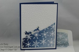 Stampin' Up! Sleigh Ride Edgelits and Softly Falling TIEF and Season of Cheer DSP
