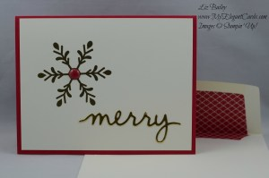 Stampin' Up! Holly Jolly Greetings and Christmas Greetings thinlits