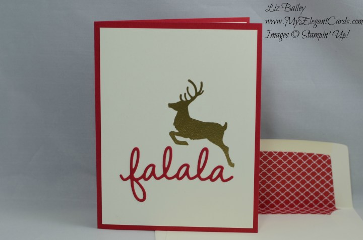 Stampin' Up! Jolly Christmas and Seasonal Frame Thinlits