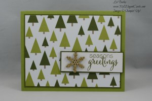 Stampin' Up! Merry Moments DSP and Mistletoe and Holly
