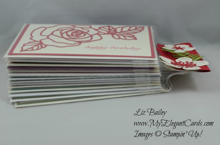 Stampin' up! botanical builder framelits dies packaging