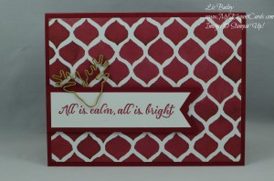 Stampin' Up! Season of cheer DSP and Wonderland
