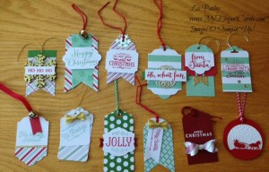 Stampin' Up! Oh What Fun tag project kit