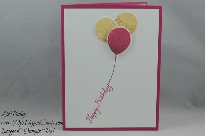 Stampin' Up! Balloon Celebration