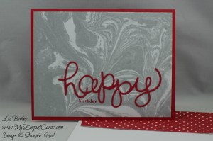 Stampin' Up! Perfectly Artistic DSP and Hello You and Endless Birthday Wishes