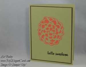 Paper Pumpkin February 2016 Alternate 2 - Hello Sunshine