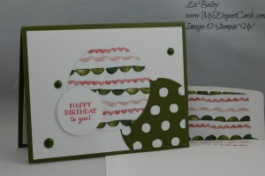 Stampin' Up! Birthday Bouquet DSP and Party Pants