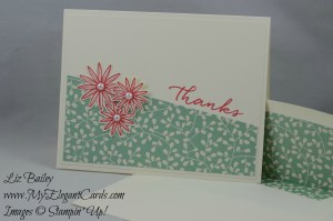 Stampin' Up! Watercolor Wishes and Grateful Bunch