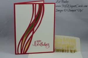 Stampin' Up! Swirly Scribbles thinlits and All about Everything