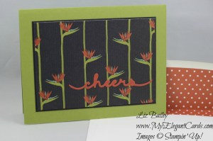 Stampin' Up! Botanical Gardens DSP and Greetings Thinlits