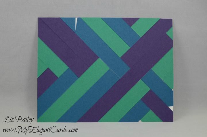 strips on whisper white for inside of card
