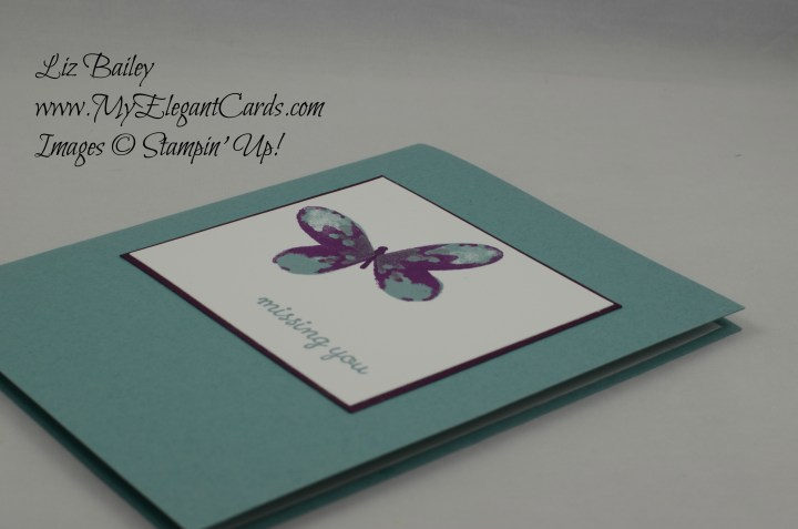 Stampin' Up! Watercolor Wings and Happy Home