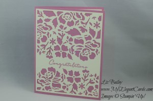Stampin' Up! Detailed Floral Thinlits Dies and Floral Phrases