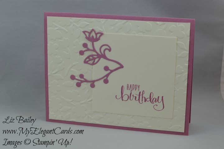 Stampin' Up! Flourish Thinlits dies and All About Everything