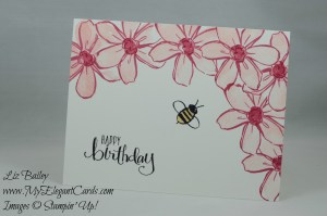 Stampin' Up! Garden in Bloom and All About Everything