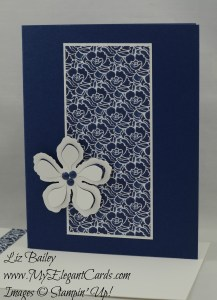 Stampin' Up! Floral Boutique DSP and Botanical Builders thinlits dies