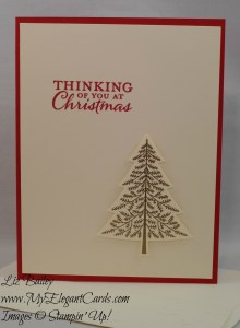 Stampin' Up! Peaceful Pines