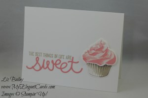 Stampin' Up! Cupcake Cutouts framelits dies and Sweet Cupcake