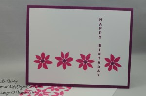 Stampin' Up! Blooms & Wishes and Vertical Greetings