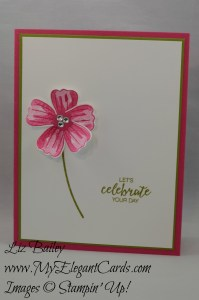 Stampin' Up! Blossom Builder Punch and Bunch of Blossoms