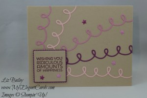 Stampin' Up! Cupcake Cutouts framelits dies and Cottage Greetings and Layering Squares Framelits dies