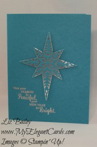 Liz Bailey Stampin' Up! Demonstrator - Starlight Thinlits Dies - Star of Lights