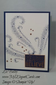 Liz Bailey Stampin' Up! Demonstrator - Star of Light - Merry Medley