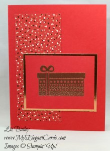 Liz Bailey Stampin' Up! Demonstrator - Cozy Critters - Candy Cane Lane