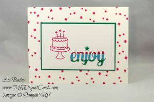 Liz Bailey Stampin' Up! Demonstrator - Festive Birthday DSP - Endless Birthday Wishes - Star of Light