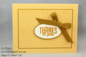 Liz Bailey Stampin' Up! Demonstrator - Paper Pumpkin October 2016 Alternate - Season of Gratitude