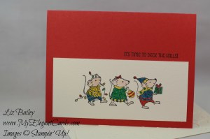 Liz Bailey Stampin' Up! Demonstrator - Merry Mice