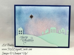 Liz Bailey Stampin' Up! Demonstrator - Paper Pumpkin November 2016 Alternate - Wonderful Winterland
