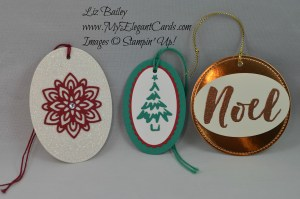 Liz Bailey Stampin' Up! Demonstrator - Flourish Thinlits Dies - Christmas Pines - Merry Tags thinlits dies