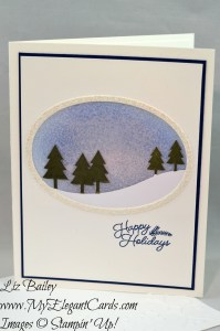 Liz Bailey Stampin' Up! Demonstrator - Paper Pumpkin November 2016 Alternate 2 - Wonderful Winterland