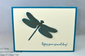 Liz Bailey Stampin' Up! Demonstrator - Dragonfly Dreams - Detailed Dragonfly Thinlits Dies