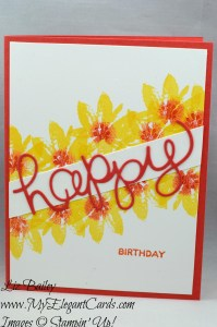 Liz Bailey Stampin' Up! Demonstrator - Avant Garden - Hello You thinlits Dies