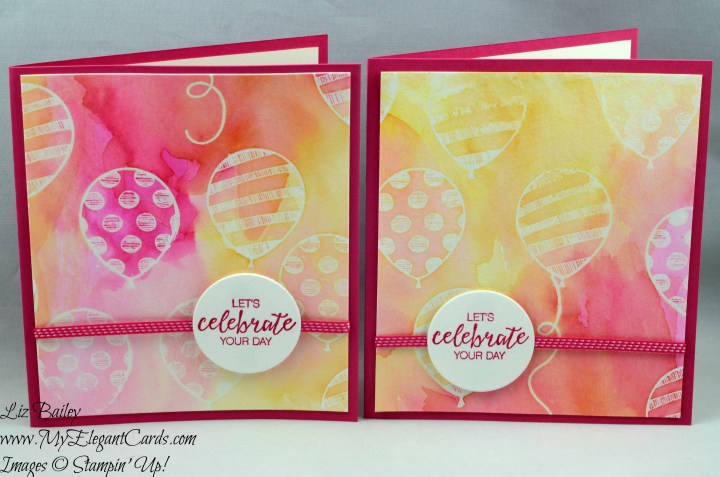 Liz Bailey Stampin' Up! Demonstrator - Balloon - Bunch of Blossoms - Layering Circles Framelits Dies