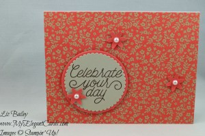 Liz Bailey Stampin' Up! Demonstrator - Designer Tin of Cards - Layering Circles Framelits Dies