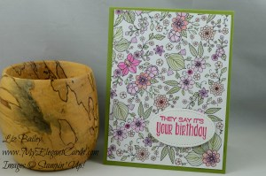 Liz Bailey Stampin' Up! Demonstrator - Inside the Lines DSP - Suite Sayings - Stitched Shapes Framelits Dies
