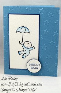Liz Bailey Stampin' Up! Demonstrator - Moon Baby - Lucky Stars TIEF