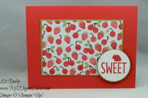 Liz Bailey Stampin' Up! Demonstrator - Tasty Treats Specialty DSP - Frozen Treats Framelits Dies - Cool Treats - Layering Circles Framelits Dies