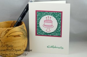 Liz Bailey Stampin' Up! Demonstrator - Endless Birthday Wishes - Stitched Shapes Framelits Dies - Party Animal DSP